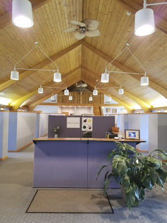 A New Leaf Foster Care Interior Office Image